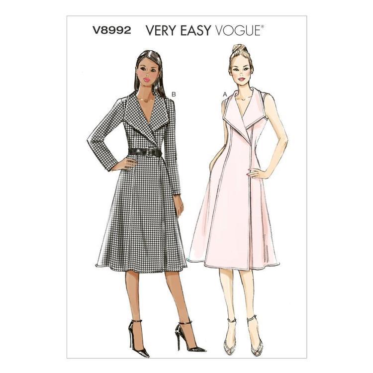 Vogue Pattern V8992 Misses' Dress