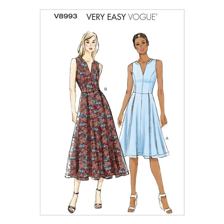 Vogue V8993 Misses' Petite Dress