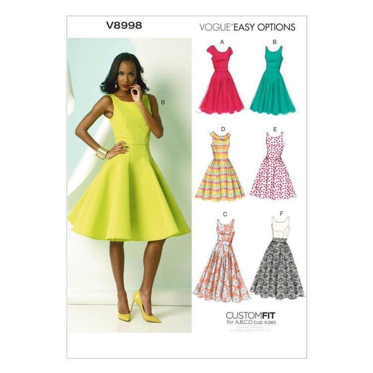 Vogue V8998 Misses' Dress