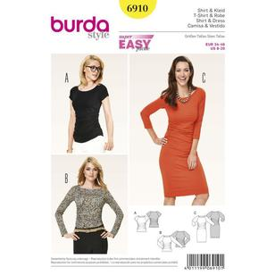 Burda Pattern 6910 Women's Dress