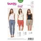 Burda 6938 Women's Pants  6 - 20