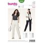 Burda 6952 Women's Plus Size Pants  18 - 34