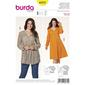 Burda Pattern 6972 Women's Plus Size Blouse & Dress  18 - 30