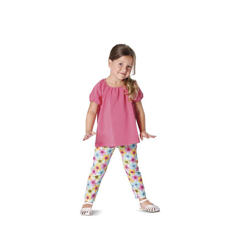 Burda Pattern 9438 Girl's Coordinates  2 - 7