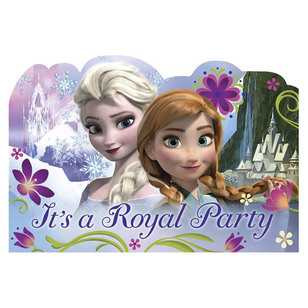 Disney Frozen Postcard Invitations