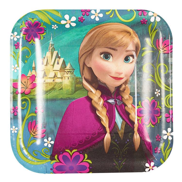 Disney Frozen Square Plates