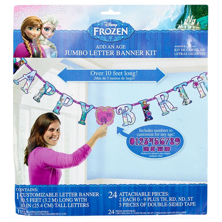 Disney Frozen Jumbo Letter Banner