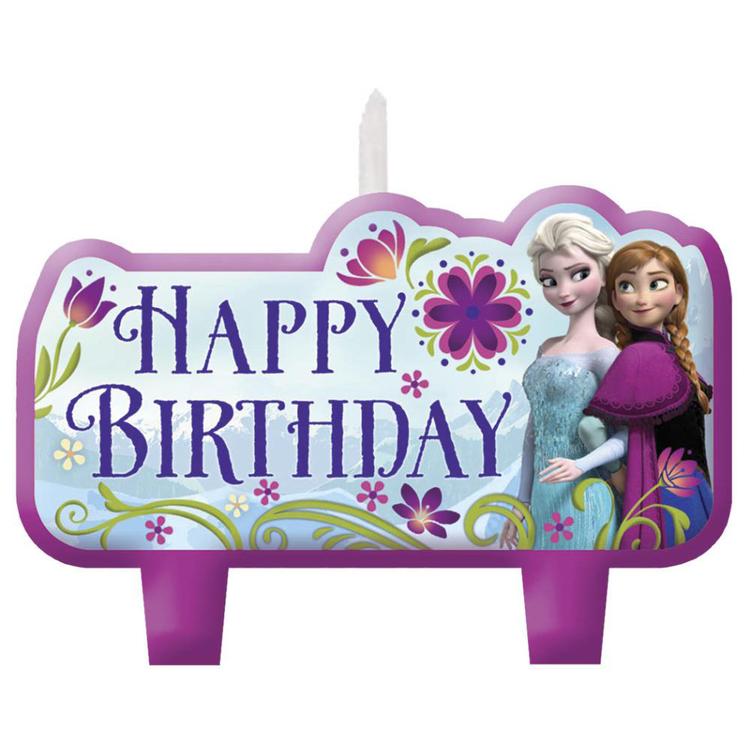 Disney Frozen Birthday Candle Set