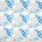 Flora Printed Fabric Teal 120 cm - Everyday Bargain