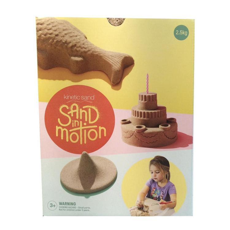 Kinetic Sand Sand In Motion Natural 1 kg