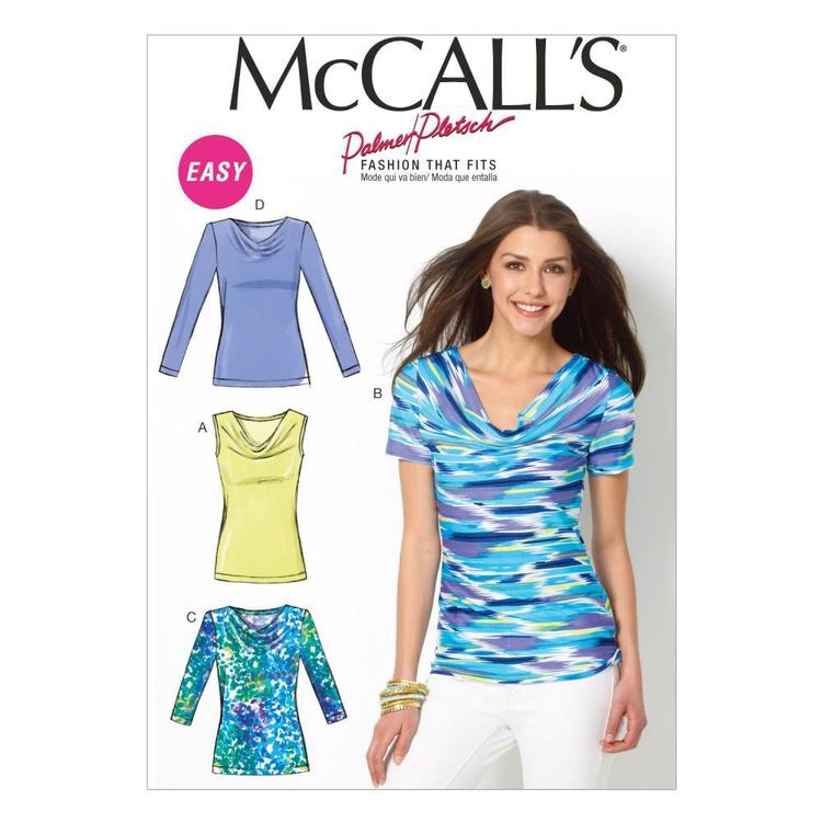 McCall's Pattern M6963 Misses' Tops
