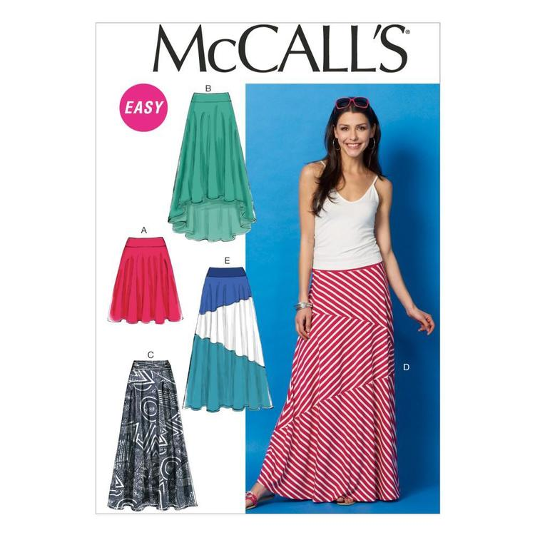 McCall's Pattern M6966 Misses' Skirts