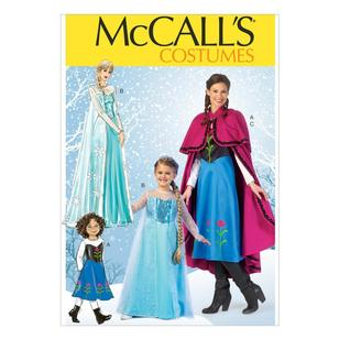 McCall's Pattern M7000 Girls' Costumes