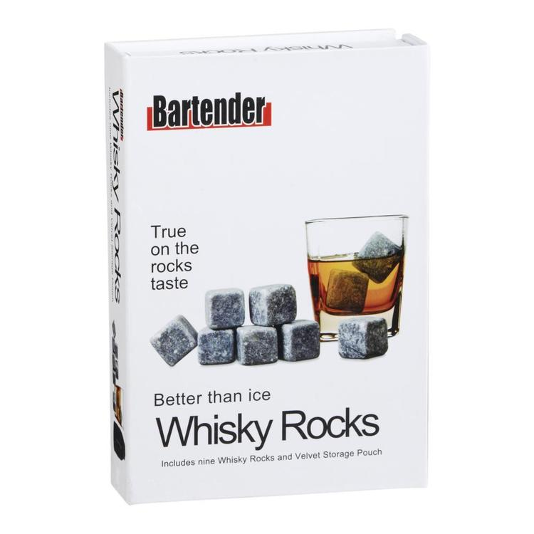 Bartender Whisky Rocks Grey