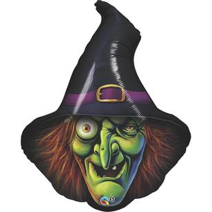 Qualatex Shape Wicked Witch Balloon