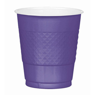 Amscan New Purple Plastic Cups