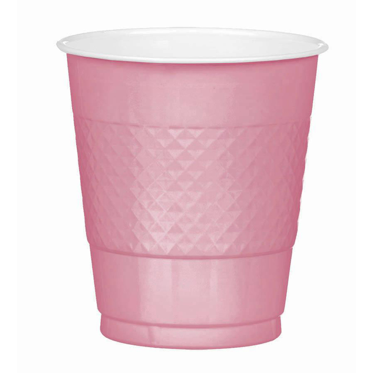 Amscan New Pink Plastic Cups