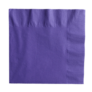 Amscan 2 Ply New Purple Lunch Napkins