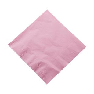Amscan 2 Ply New Pink Lunch Napkins