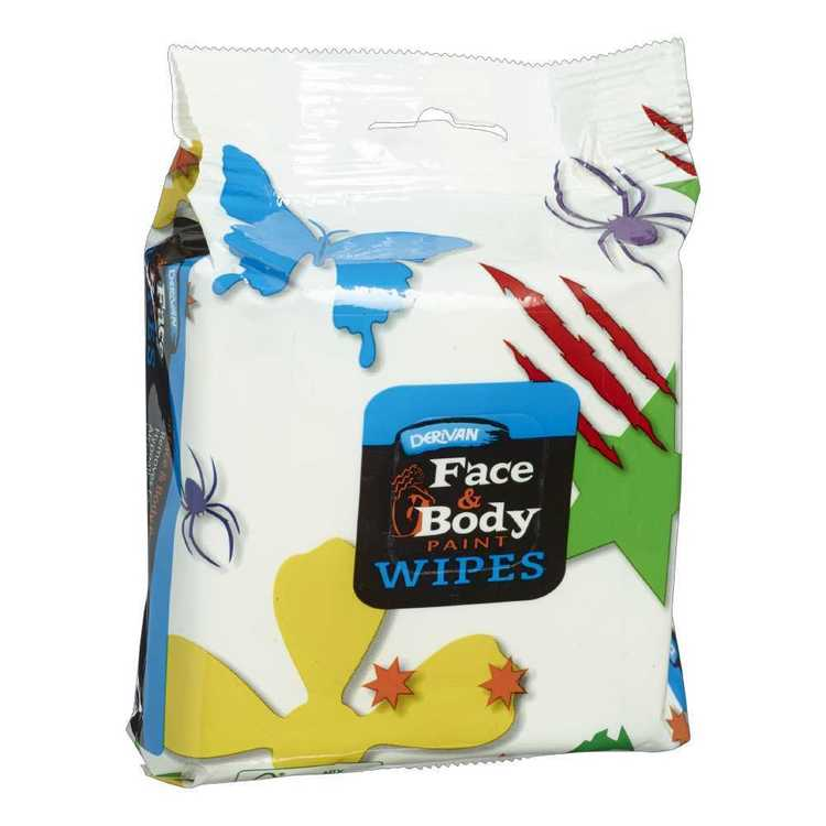 Derivan Face and Body Wipes White