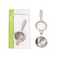 Teaology Stainless Steel Tea Strainer with Bowl Silver