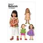 Butterick B6047 Toddlers' Top Dress Shorts & Pants All Sizes