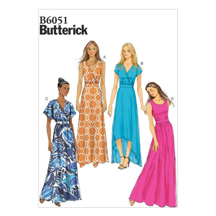 Butterick Pattern B6051 Misses' Dress
