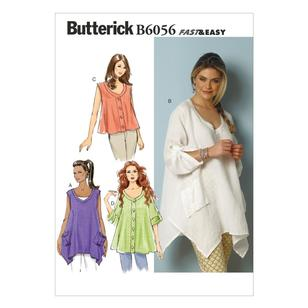 Butterick Pattern B6056 Misses' Top