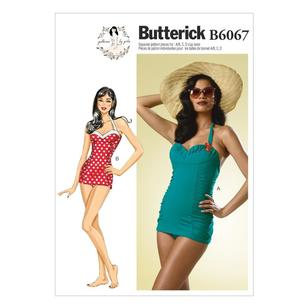 Butterick B6067 Misses' Swimsuit