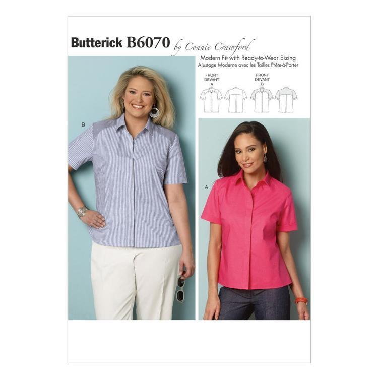 Butterick Pattern B6070 Women's  Shirt