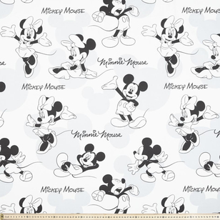 Disney Mickey & Minnie Mouse Fabric