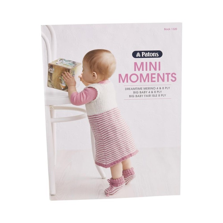 Patons Mini Moments 1320 White