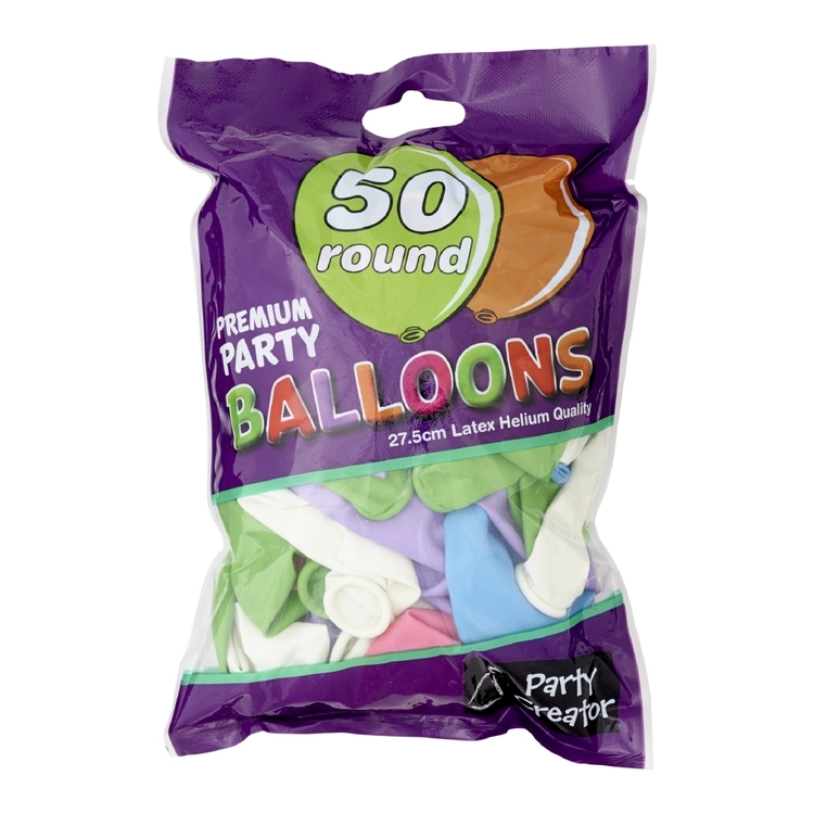 Party Creator Pearl Balloons 50 Pack - Everyday Bargain