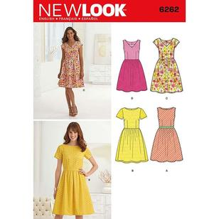 New Look Pattern 6262 Women's Dress