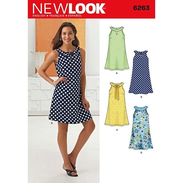 New Look Pattern 6263 Women's Dress