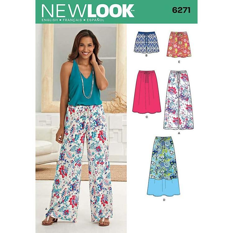 New Look Pattern 6271 Women's Coordinates