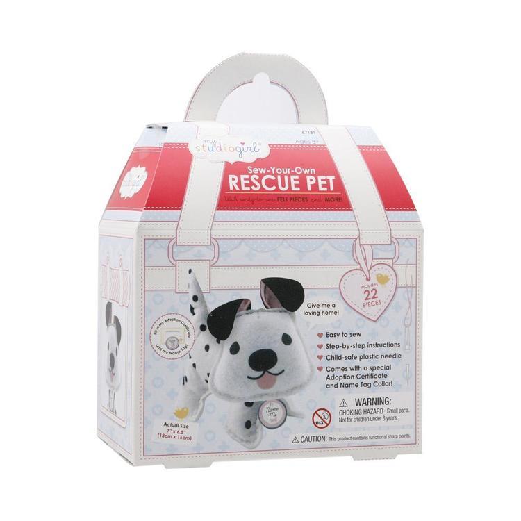 My Studio Girl Rescue Pet Dalmatian Sewing Kit
