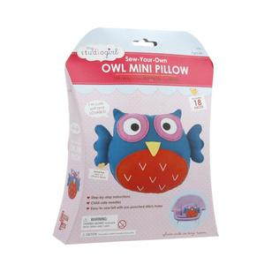 My Studio Girl Flatsie Mini Owl Cushion Sewing Kit