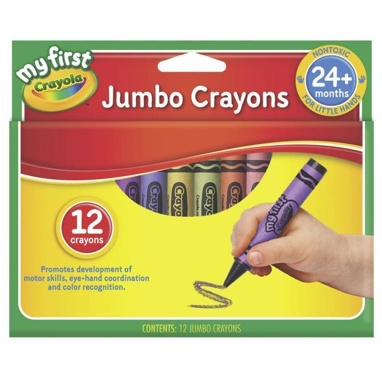 Crayola My First Jumbo Crayons 12 Pack