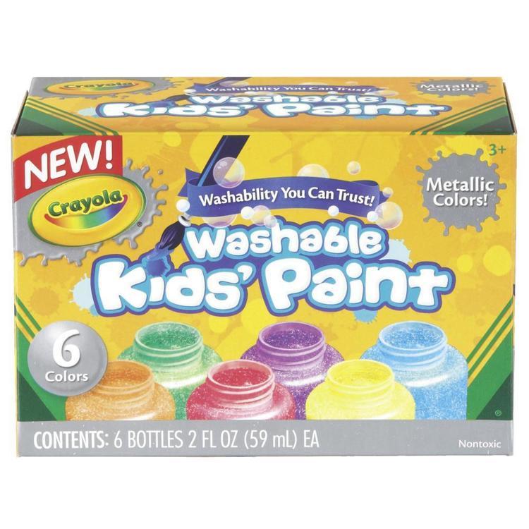 Crayola  Washable Metallic Paints