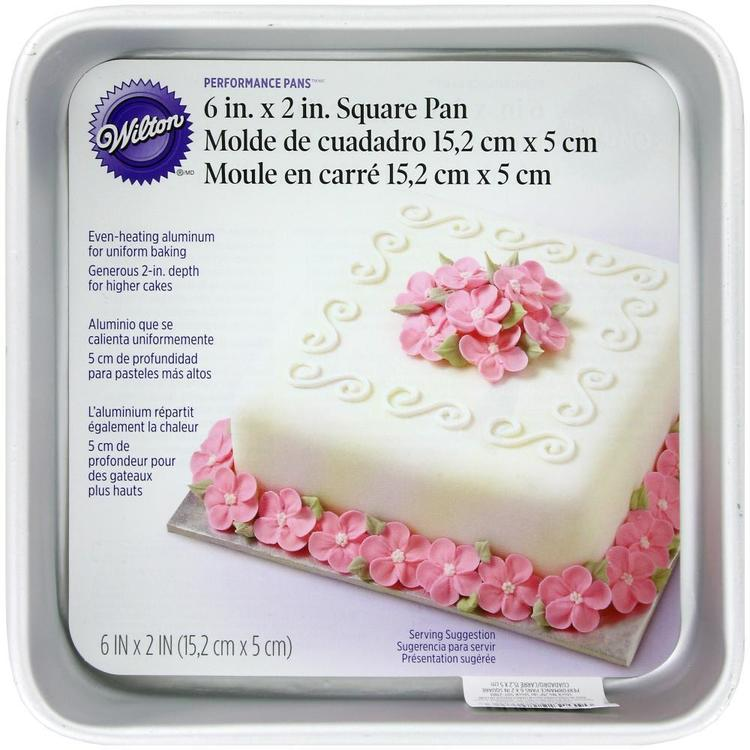 Wilton Square Pan 6 inch x 2 inch