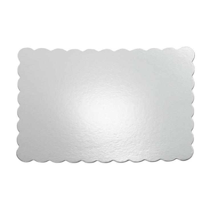 Wilton Rectangle Silver Cake Board Silver