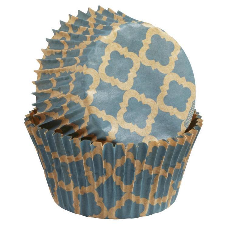 Wilton Unbleached Quatrefoil Standard Baking Cups