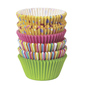 Wilton Dots and Stripes Cupcake Pack 150 Pack Multicoloured