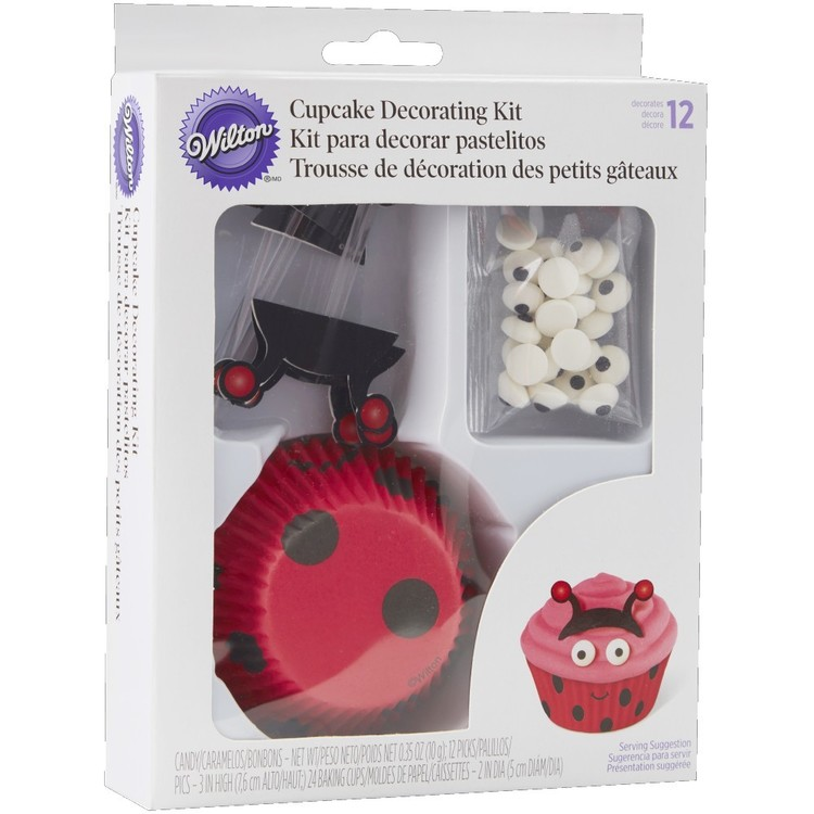 Wilton Ladybug Cupcake Decorating Kit