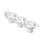 Wilton Two Tone Cupcake Insert White