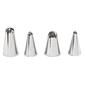 Wilton Drop Flower Tip Set Silver