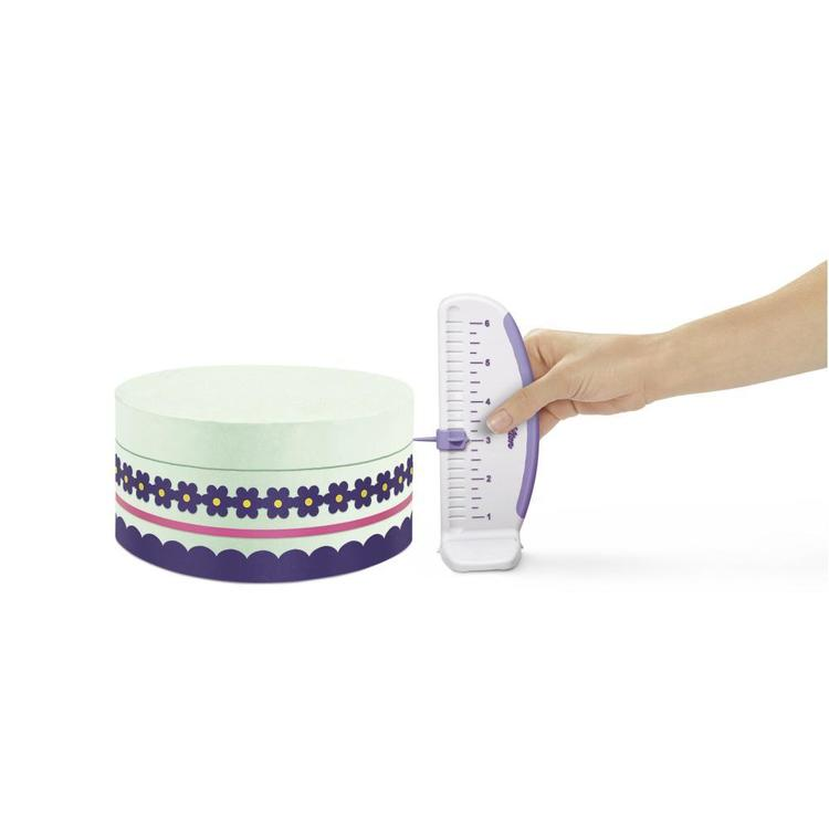 Wilton Cake Maker White & Purple