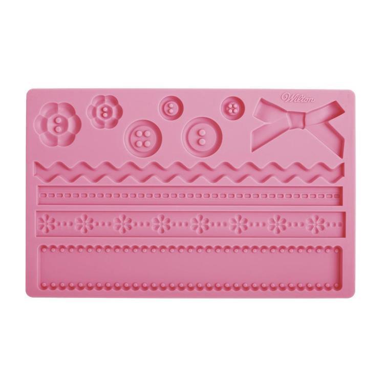 Wilton Fabric Fondant & Gum Paste Mould
