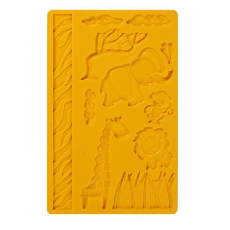 Wilton Jungle Pals Fondant And Gum Paste Mould Orange